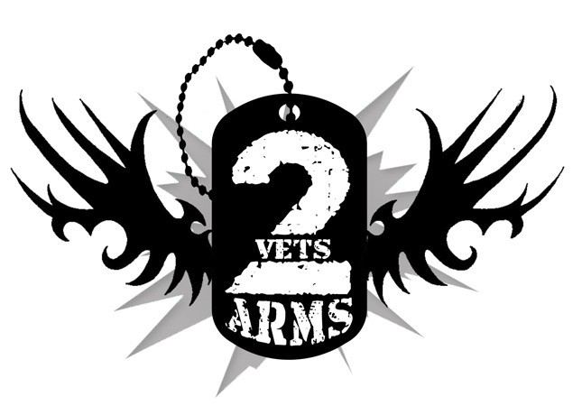 2 Vets Arms Logo