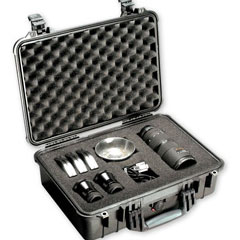 Pelican 1500 Case w/Foam (Black)