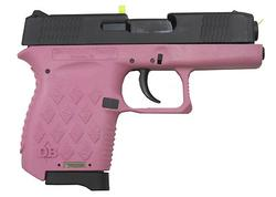 Diamondback DB380 Black / Pink .38 0ACP 2.8-inch 4Rd