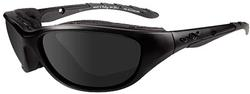 Wiley X AirRage Black OPS Sunglasses - Smoke Grey Lens / Matte Black Frame, 694
