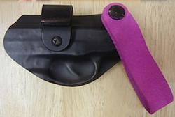 Flashbang Holsters The Sophia Belt Slide Holster For Ruger LC9/LC380 Black Right Hand