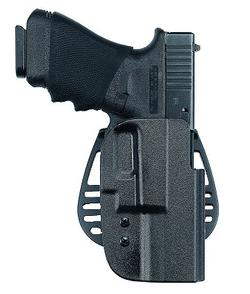 Uncle Mike's Kydex Black Paddle Holster, S&W J Frame 38/357, Right Hand 5436-1