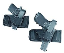 Uncle Mikes Side Bet Holster Auto/REV Black Ambidextrous
