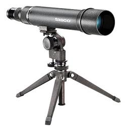 Tasco World Class 20-60x60 Straight Spotting Scope, Matte w/Tripod, New WC206060