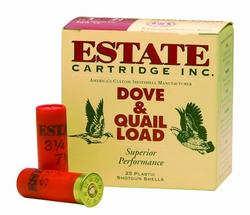 Estate Dove Load #6 shot 2-3/4 12 GA 25Rds