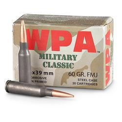 WPA Military Classic 5.45X39MM 70GR FMJ 750Rds
