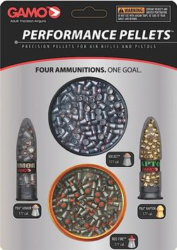 GAMO Performance Pellets Combo Pack - Platinum