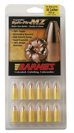 Barnes Expander MZ and Spit Fire MZ and TMZ - Copper