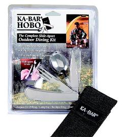 Ka-Bar 1301 HOBO forK/KNF/SPOON Stainless with S