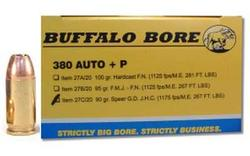 Buffalo Bore Handgun Ammunition
