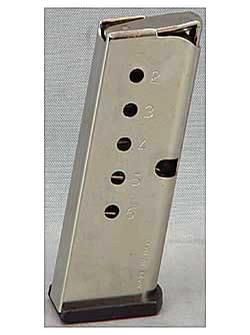 North American Arms Magazine Guardian .380ACP 6rd Stainless
