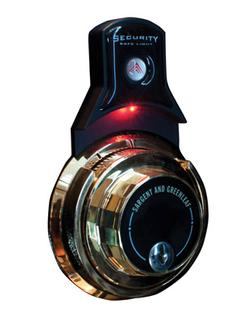 Gunvault SLL04 Mechanical Combination Lock Light Red LED 3V Lithium Black