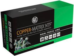 Ruag Ammotec USA Inc CM38 COPPER MATRIX 38 Spc Non Toxic/Frangible 100 GR 50Rds