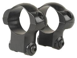 Redfield Ruger M77 Riflescope Steel Rings - 1in, High, Matte Black - 47236