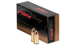 PMC 9G Bronze 9mm Full Metal Jacket 124 GR 50Box