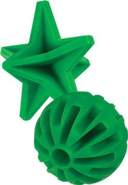 Champion Duraseal Crazy Bounce Star Target 5 Inch Green