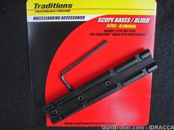 TRADITIONS BASE FOR VORTEK PISTOL 1 PIECE MATTE