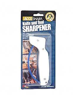 AccuSharp 001 Knife Sharpener White