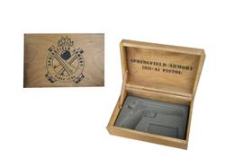 Springfield 1911 Single Wooden Box