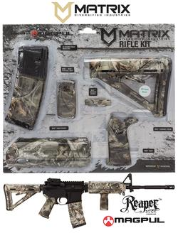 Matrix Diversified Industries MAGMIL06-RB Magpul Kit BUCKS and BONES