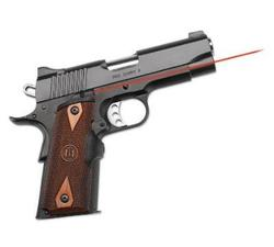 Crimson Trace 1911 Lasergrips Cocobolo Diamond Pattern, Wood, Government-Commander, Full-Size LG-920
