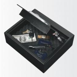 SO BIOMETRIC DRAWER SAFE W/ BIOMETRICK LOCK BLK