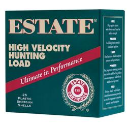 "Estate Cartridge High Velocity Hunting Loads 20 Gauge 2 3/4"" 1 ozs. 25 rounds"