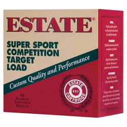Estate Cartridge SS12XH75 12GA Super Sport Target 11/8 25rds