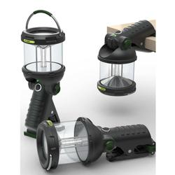 Blackfire Clamplight LED Lantern and Flashlight Combo Black/Green - Camping Equipment, Flashlights at Academy Sports