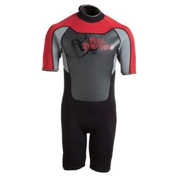 Fthr Wetsuit Yth Shty Red/gry M