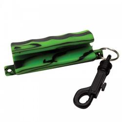 Allen ALLEN ARROW PULLER SOFT RUBBER W/SNAP BLACK/GREEN
