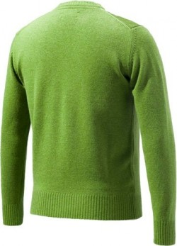 BERETTA MEN'S CLASSIC ROUND SWEATER MEDIUM LGT GREEN