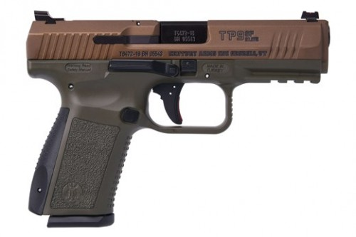Canik TP9SF Elite OD Green/Bronze 9mm 4.2-inch 15Rds