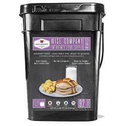 Wise Foods Breakfast Bucket, 92 Servings