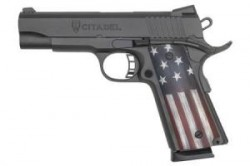 CITADEL 1911-A1 Commander 9mm Mid-Size Pistol with USA Flag Grips CIT9MIDMRCA