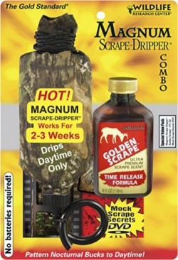 Wildlife Research Center Magnum Scrape Dripper/4-oz. Golden Scrape Combo