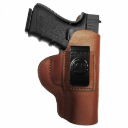 Regular Soft Style Holster FITS Taurus Millenium Pro. Brown / Right Hand