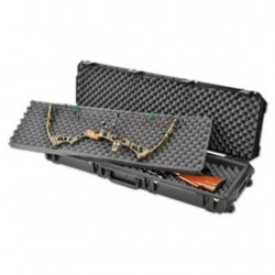 SKB ISERIES DOUBLE RIFLE BOW CASE BLK 48