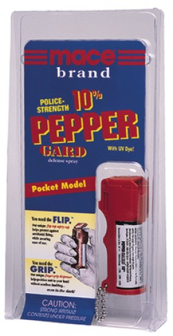 Mace Pepperguard High-Grade OC pepper Contains 5, One Second Bursts 11 gr, Package