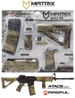Matrix Diversified Industries MAGMIL01-HD Magpul Kit High DESERT