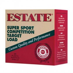 Estate Cartridge SS12L18 12GA Super Sport Target 1oz 25rds