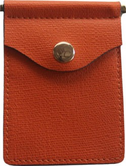 Concealed Carrie CONCEALED CARRIE COMPAC WALLET PUMPKIN LEATHER