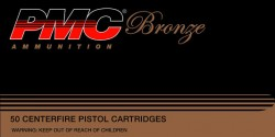 PMC Bronze, .32 ACP, JHP, 60 Grain, 50 Rounds