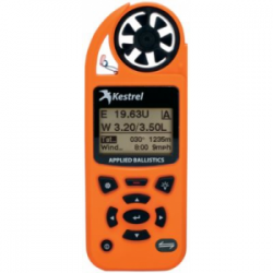 Kestrel Elite Weather Meter with Applied Ballistics no LiNK, Black, 0857ABLK