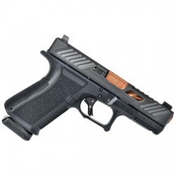 SHADOW SYSTEMS MR918 ELITE 9MM BLACK SLIDE, BLACK FRAME,  BRONZE BARREL