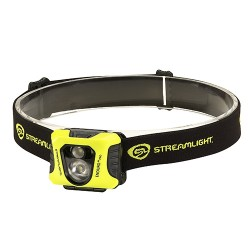 Streamlight 61420 Enduro Pro 3 AAA Alkaline Batteries, Elastic Headstrap and Yellow Fascia, Clam Package