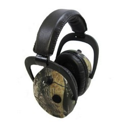 Pro-Ears Stalker Gold Shooting Hearing Protection NRR 25 Bow Hunting Headset, Real Tree APG
