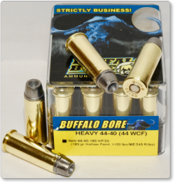 BUFFALO BORE AMMO 44-40(44WCF)