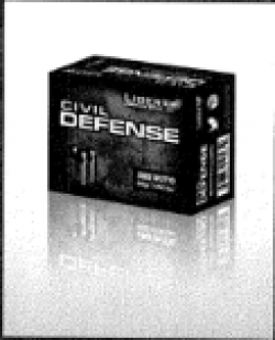 Liberty Ammunition Civil Defense 9MM 50GR HP 20Rds Lead-Free
