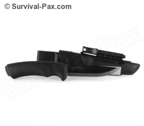 Morakniv Bushcraft Survival Knife-Black